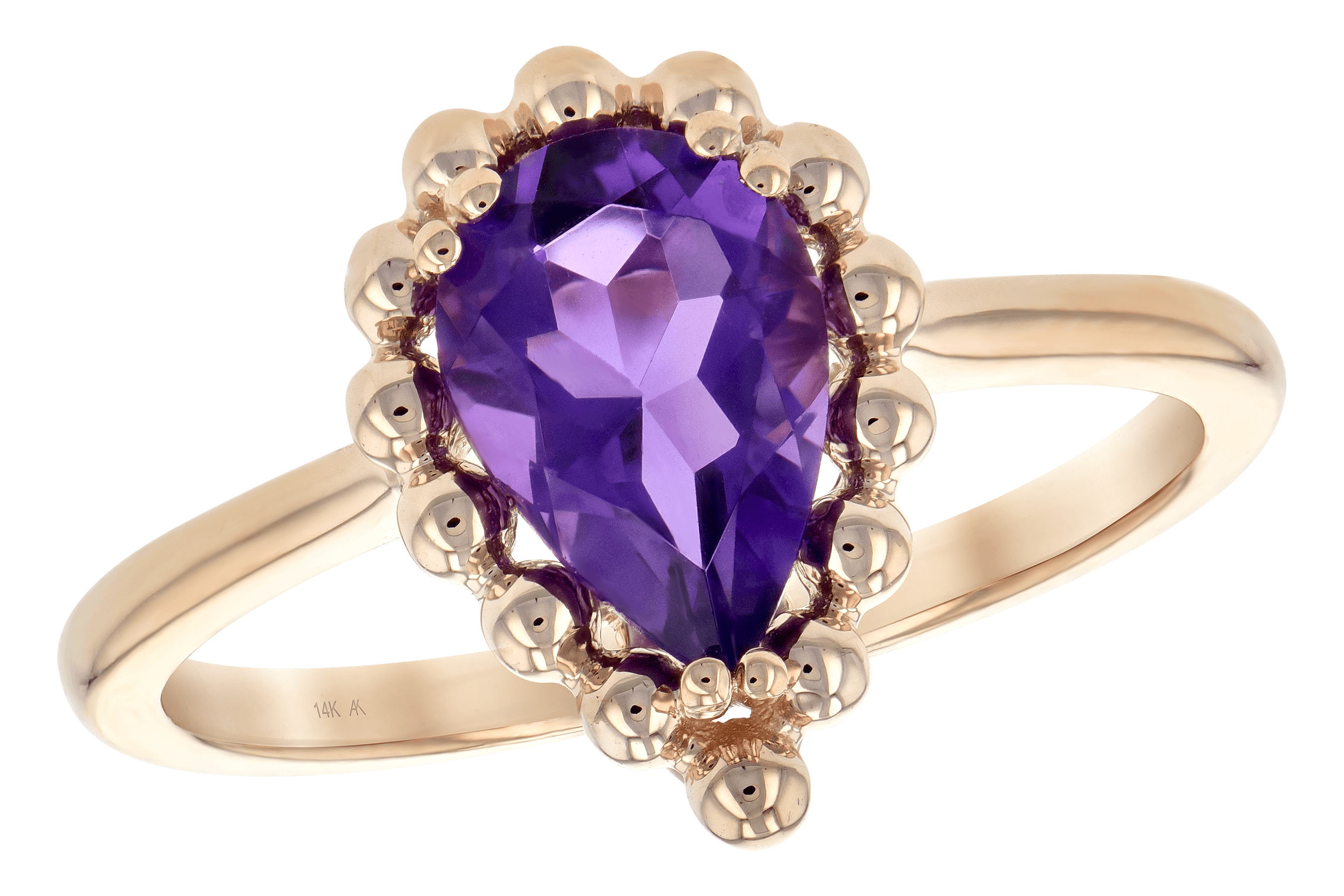 C189-22522: LDS RING 1.06 CT AMETHYST