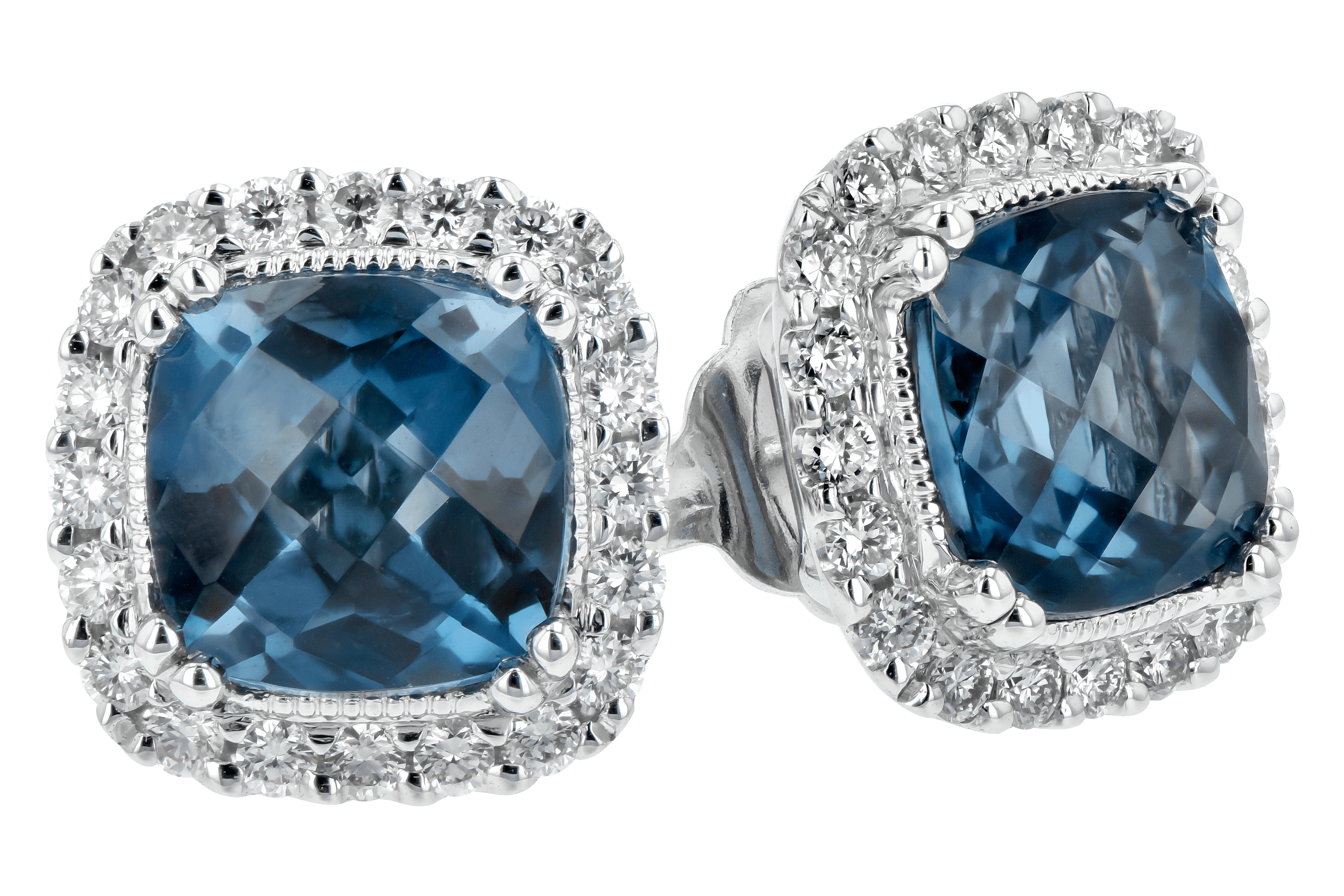 F189-19749: EARR 2.14 LONDON BLUE TOPAZ 2.40 TGW