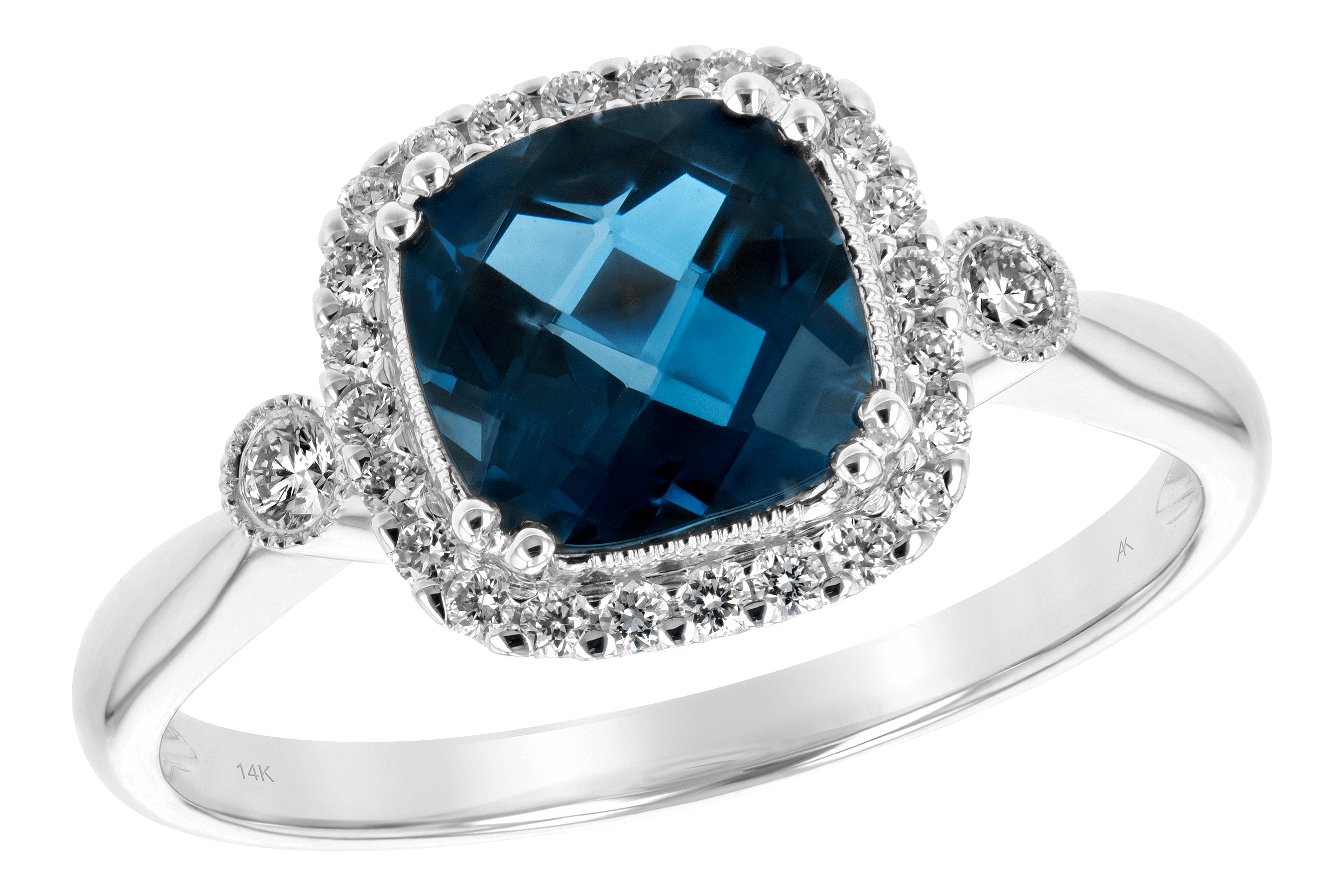 M189-19749: LDS RG 1.62 LONDON BLUE TOPAZ 1.78 TGW