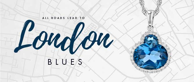 All Roads Lead to London Blue